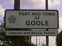 Welcome to Goole Street Sign