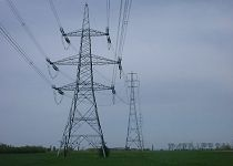 The national grid pylons