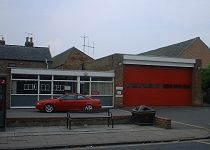 The under-treat fire station