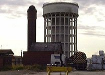 The water towers - present