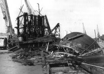 No. 3 hoist demolished in 1993