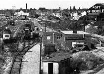 The docks branch line in 1989