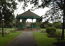 The bandstand in West Park