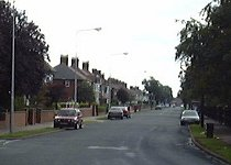 The pedestrianised part of Boothferry Road