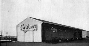 The distribution centre for Carlsberg lager beers