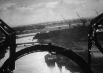 The Dutch River bridge with Old Goole on the right
